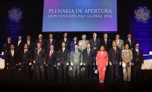 Opening of Global Peace Convention 2014