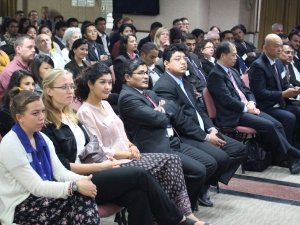 Audience at APPDSA event