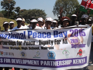 Kenyans Celebrate International Day of Peace