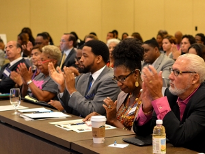 Audience at Global Peace Leadership Conference 2014 USA
