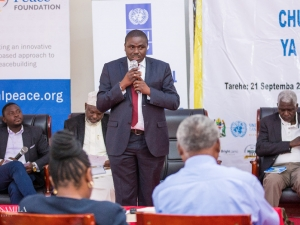 Biswalo Mganga, a Director of Public Procecution (DPP) of the United Republic of Tanzania, explains how his office deals with environmental violations