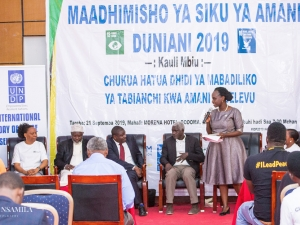 Mrs. Clara Makenya, a head of United Nations Environmental Programme – UNEP, explains how climate change affects all sector of life
