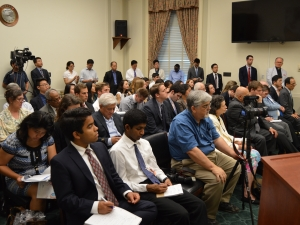 Audience at Congressional Briefing