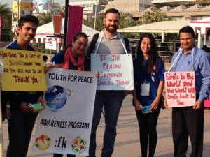 Global Peace Youth India and FK Norway volunteers foster Culture of Appreciation in New Delhi