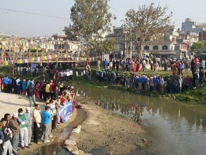 Human chain to mark 100th week of Bagmati River cleaning Mega Campaign