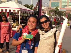 Global Peace Youth share smiles in New Delhi