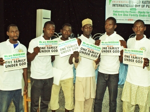 Young leaders at International Day of Peace Event in Kaduna, Nigeria