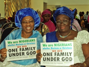 Women participants at International Day of Peace Event in Kaduna, Nigeria