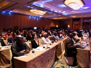 Over 500 delegates attend the Global Peace Convention 2013.