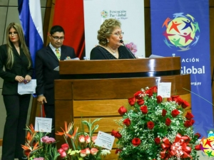 Señora María Ester Jimenez 7th Living for the Sake of Others Awards, Global Peace Foundation - Paraguay