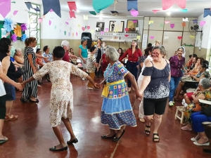 Weekly programs at the Elderly Center of SEMAS of the Goiania Municipality