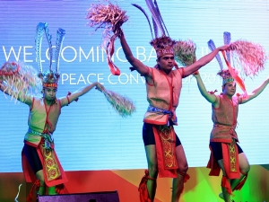 Malaysia Cultural Dance at welcoming of 2013 Global Peace Convention.