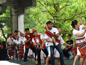 Filipino Tribal Dance at Global Peace Foundation Japan event.